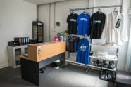 BJJ/MMA room complete. Team Nemesis Pro shop in reception
