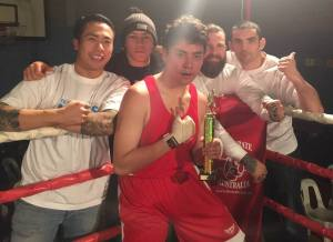 Willie wins unanimous decision after his amateur boxing debut